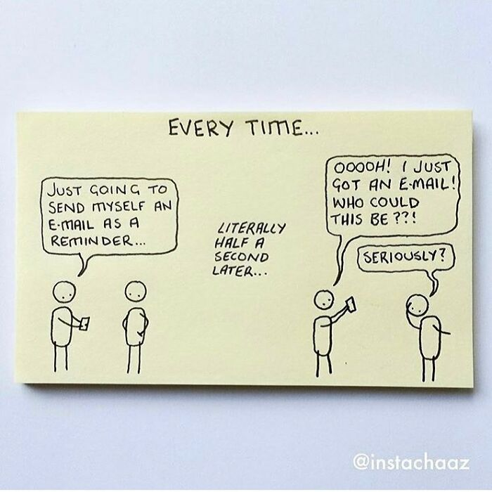 20 Sticky Notes That Perfectly Illustrate Adult Life By Artist By Chaz Hutton (New Pics)