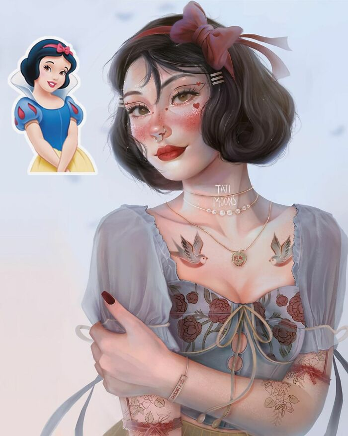 10 Times This Artist Created More Realistic Versions Of Popular Cartoon Characters